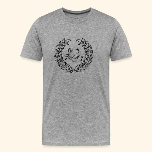 Cube En Train De Fondre - T-shirt Premium Homme