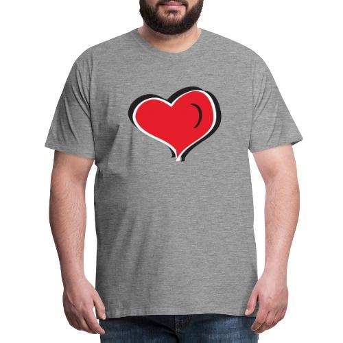 AMOR! LOVE! AMOUR! - T-shirt Premium Homme