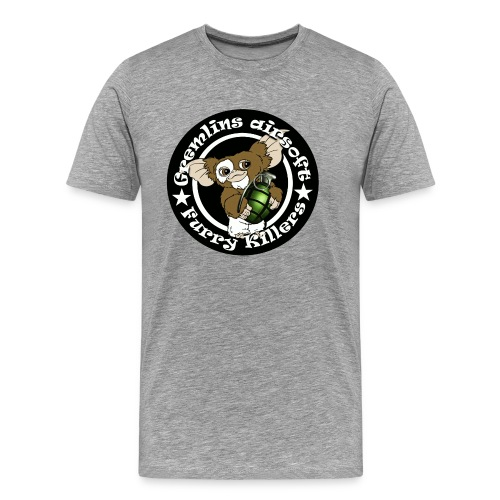 blackgranatepatch2 - Herre premium T-shirt