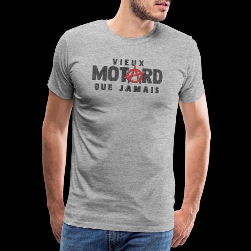 vieux motard Anarchy - T-shirt Premium Homme