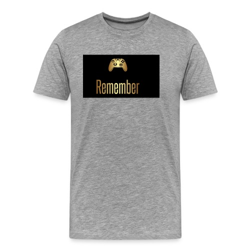Merch Remember - Herre premium T-shirt