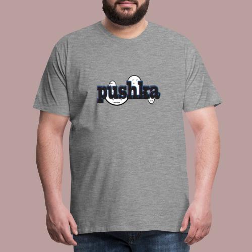 Pushka Cute Faces - Männer Premium T-Shirt