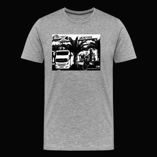 White Rastas Fan Artikel - Männer Premium T-Shirt