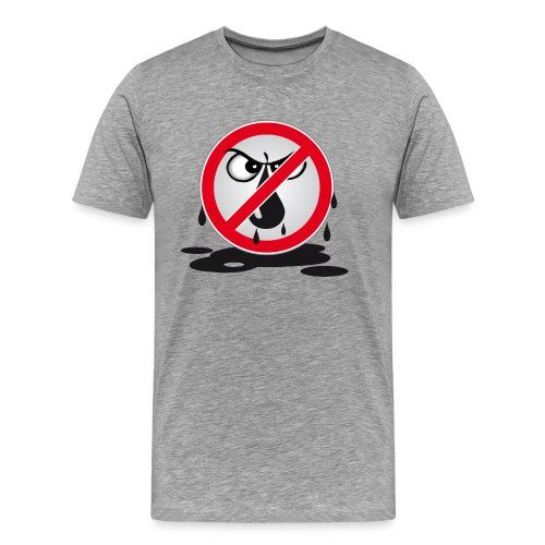 Erdöl Nein danke - Männer Premium T-Shirt