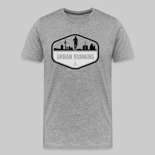 UrbanRunningLogo - Männer Premium T-Shirt