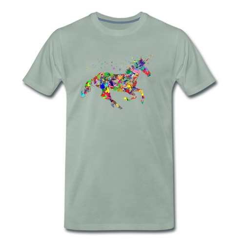 Einhorn - Männer Premium T-Shirt