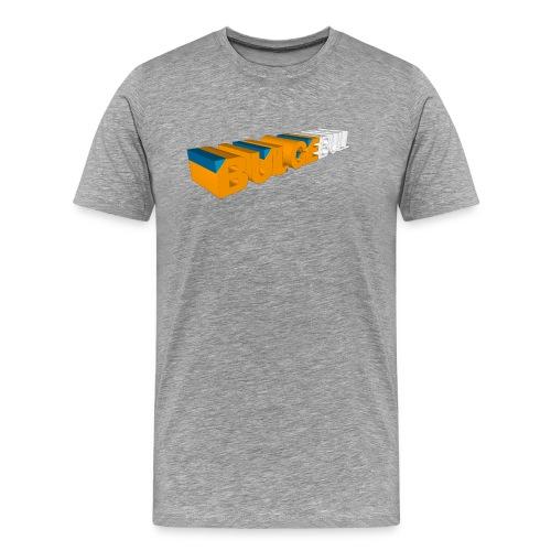 bulgebull logo 3d - Camiseta premium hombre