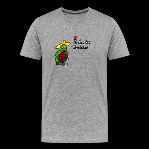 turtle - Männer Premium T-Shirt