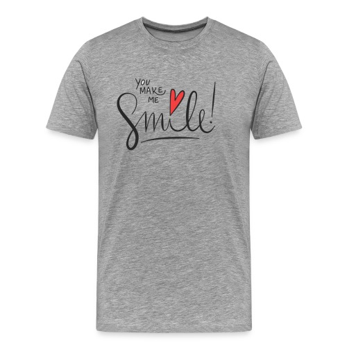 just smile - Männer Premium T-Shirt