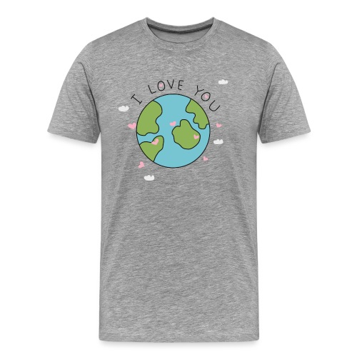 iloveyou - Maglietta Premium da uomo