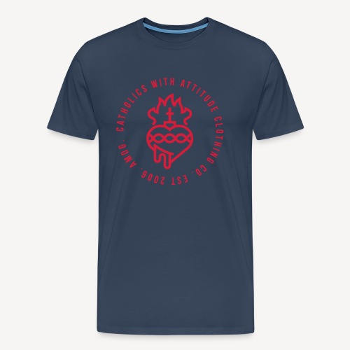CATHOLICS WITH ATTITUDE CLOTHING CO. - Men's Premium T-Shirt