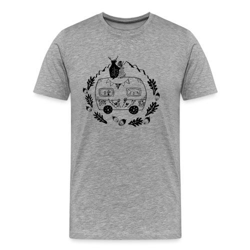 Norwegenliebe - Männer Premium T-Shirt