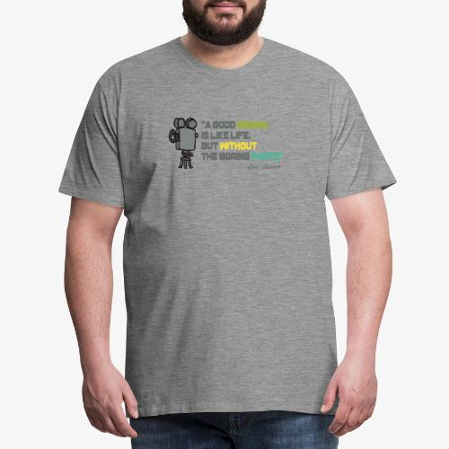 Pasión por el cine - Camiseta premium hombre