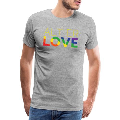 Alt er Love | SKAM | LGBT | Pride - Männer Premium T-Shirt