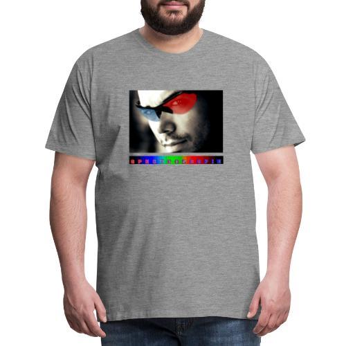 Visage Lunettes Spectroscopie - T-shirt Premium Homme