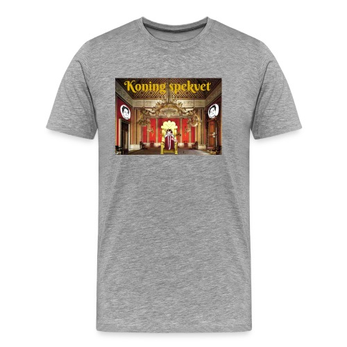 Koning Spekvet - Mannen Premium T-shirt