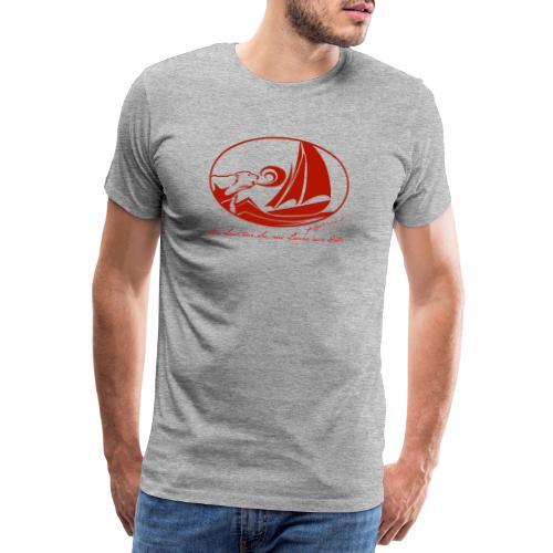 fortgeblasen - Aus Lust zur See - Männer Premium T-Shirt