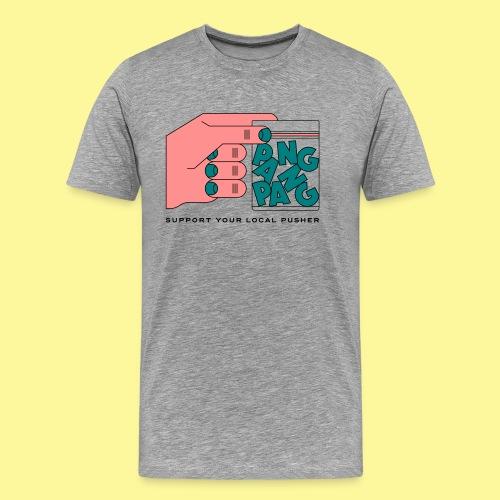PangPang Support - Premium-T-shirt herr