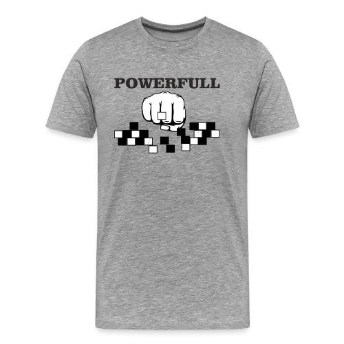 POWERFULL - Camiseta premium hombre