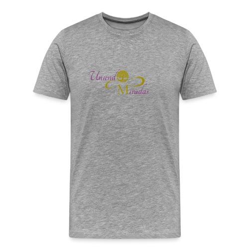 Uniendo Miradas Dorado - Camiseta premium hombre