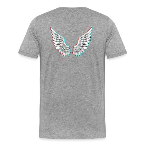 Angelic Wings Trainer Jacket - Männer Premium T-Shirt
