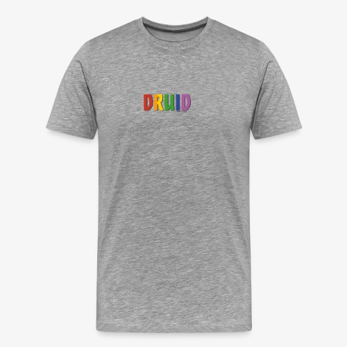 Druid Pride (Rainbow) - Men's Premium T-Shirt