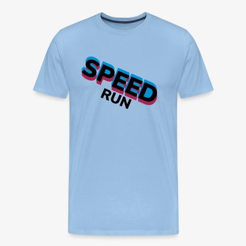 Speedrun - Mannen Premium T-shirt