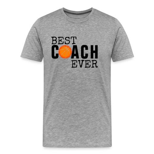 BEST COACH EVER - TRAINER - MANNSCHAFT - FUSSBALL - Männer Premium T-Shirt