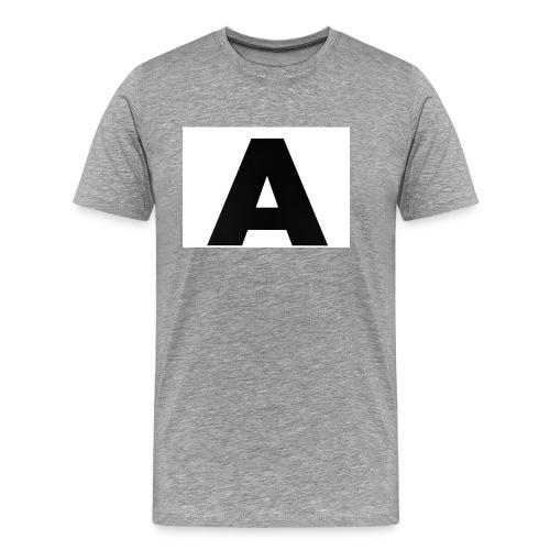 A-685FC343 4709 4F14 B1B0 D5C988344C3B - Herre premium T-shirt