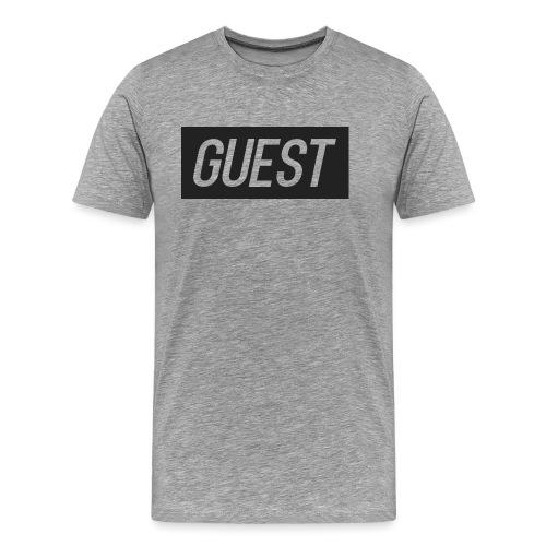 G-rectangle (grey) - Men's Premium T-Shirt