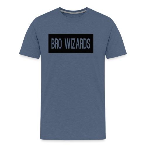 Browizardshoodie - Men's Premium T-Shirt