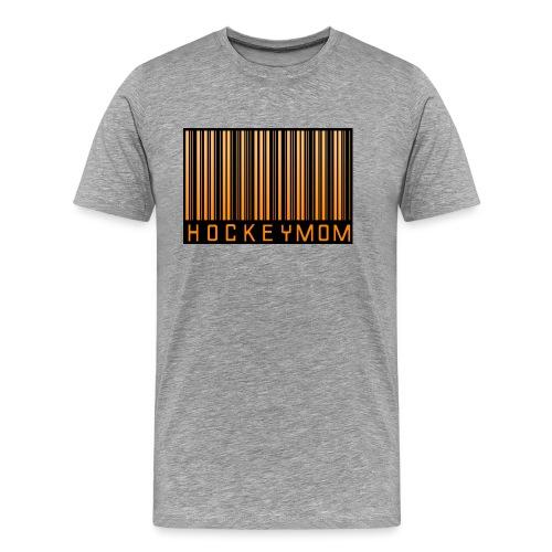 Hockey Mom Mamma Äiti Mother - Premium-T-shirt herr