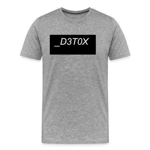 _D3T0X - Männer Premium T-Shirt