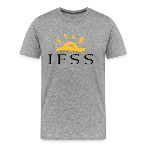 IFSS logga - Premium-T-shirt herr