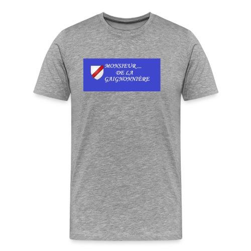 Du Reau_de_La_Gaignonnier - T-shirt Premium Homme