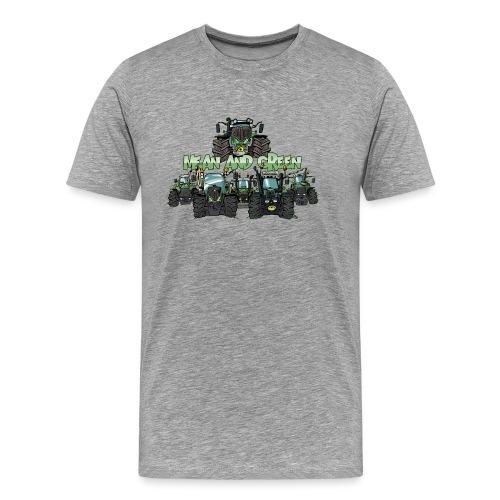 MeanAndGreen6F - Mannen Premium T-shirt