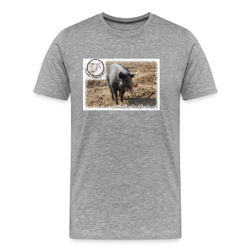 Ferkelfroh - Männer Premium T-Shirt