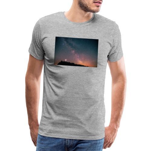 Milchstraße Fotografie Galaktisches Zentrum - Männer Premium T-Shirt