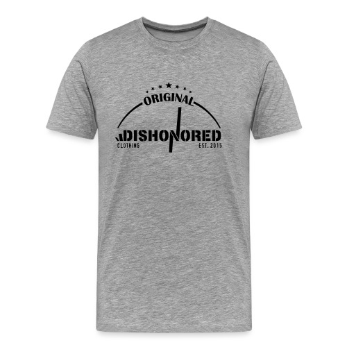 DISHONORED BROTHERS // BASIC SHIRT, BLACK AND RED - Männer Premium T-Shirt