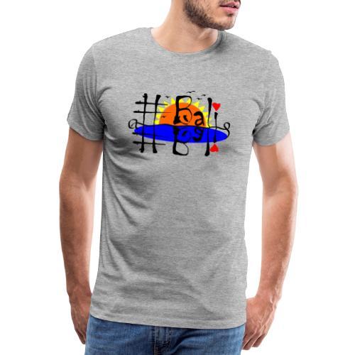 Hashtag Bali - Männer Premium T-Shirt