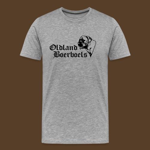 Logo Oldland Boerboels - Männer Premium T-Shirt