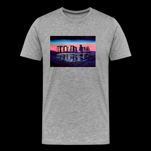 Stonehenge - Männer Premium T-Shirt