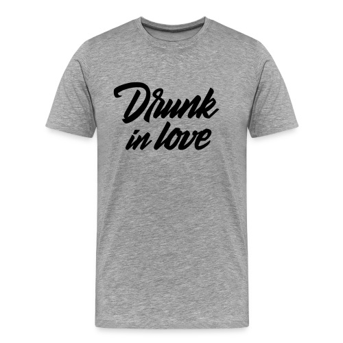 Bachelorparty - Drunk in love - Mannen Premium T-shirt