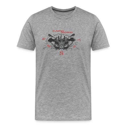 fahre richtung Norden - Männer Premium T-Shirt