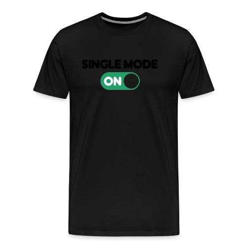 single mode ON - Maglietta Premium da uomo