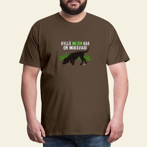 plottimeja - Miesten premium t-paita