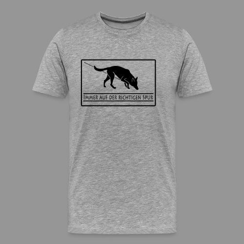 Fährtenhund - Männer Premium T-Shirt