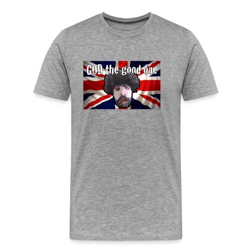 God the good one union Jack - Men's Premium T-Shirt