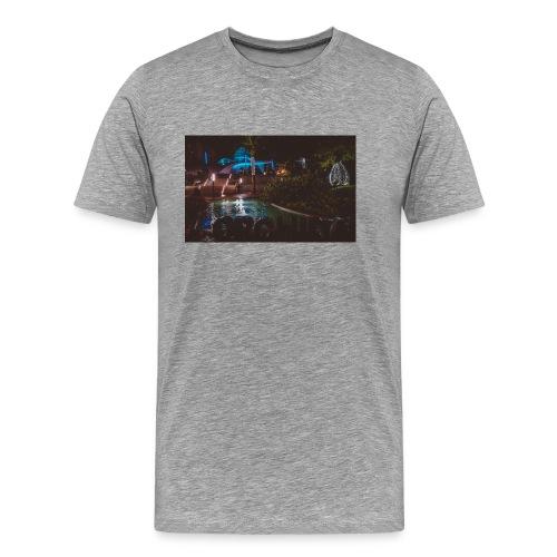 Orquidario Estepona Noche - Camiseta premium hombre