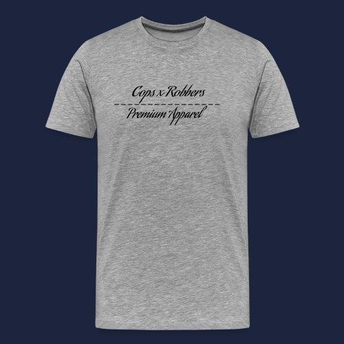 CxR Raglan with Premium Apparel large print across - Men's Premium T-Shirt